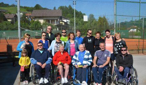 Tenis Laško 2016.šport invalidov,društvo paraplegikov gorenjske