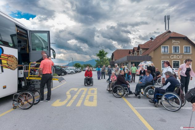 Društvo paraplegikov gorenjske,izlet velenje