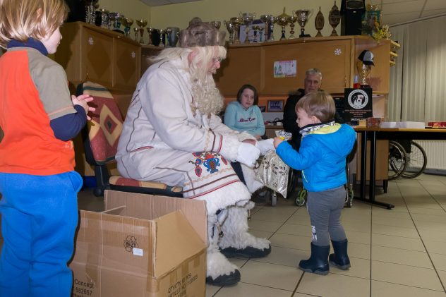 drustvo paraplegikov gorenjske-dedek mraz